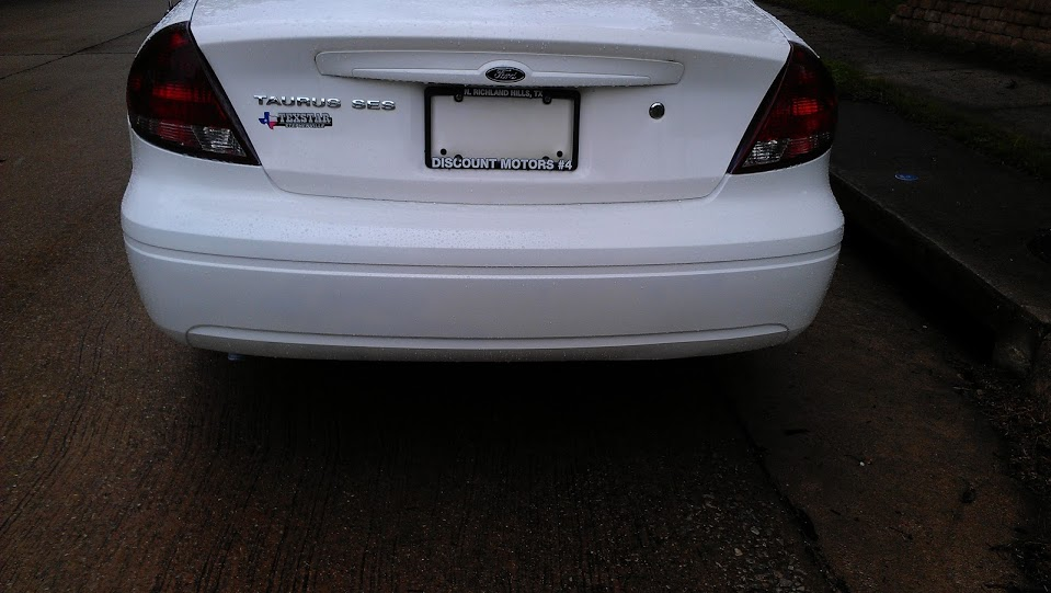 Taurus Rear Bumper After